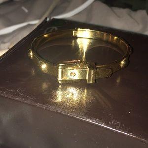 Michael Kors Gold Belt Bracelet Bangle